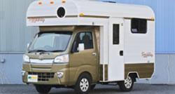 マクレント  キャンピングカー レンタル 軽キャンパー